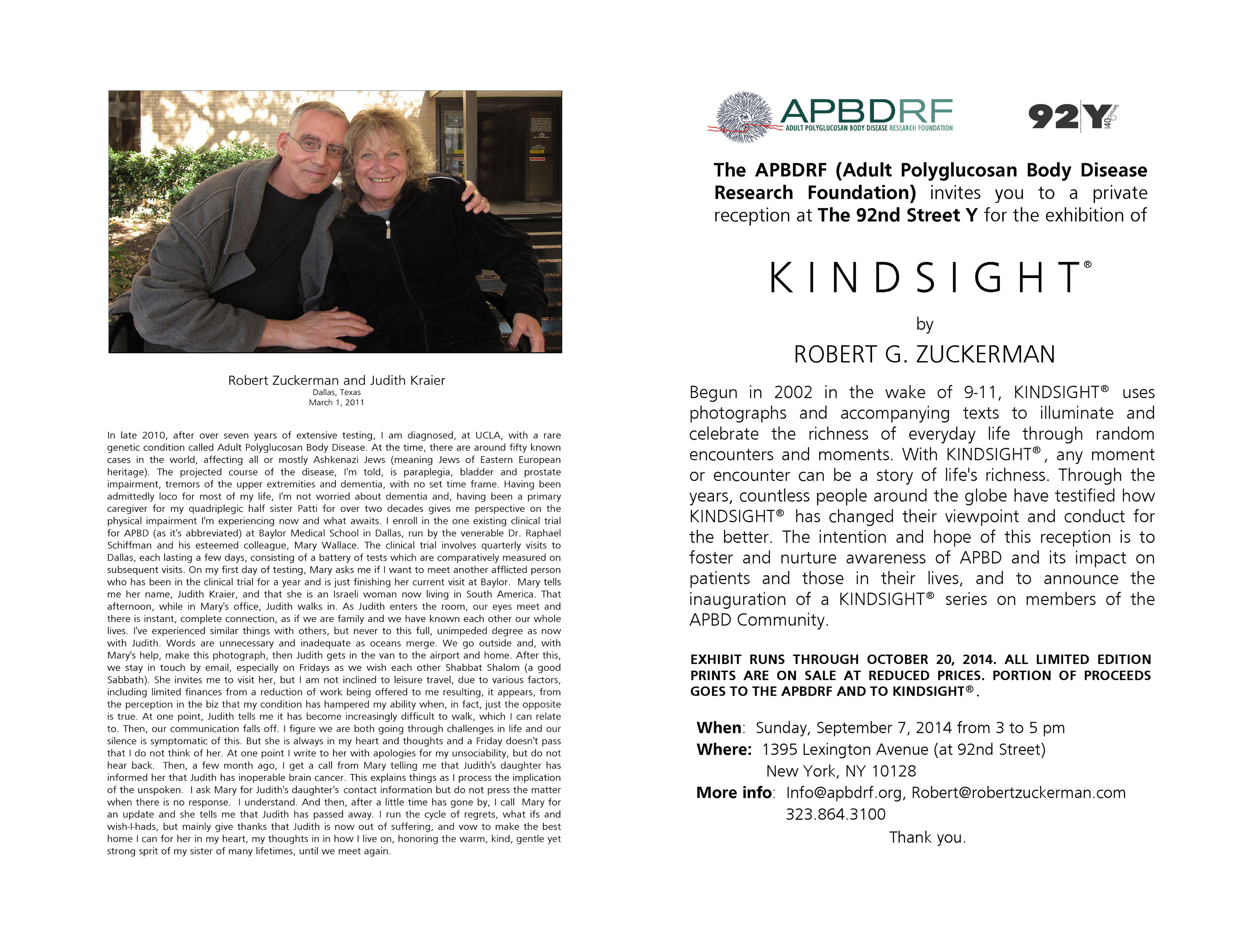 92Y evite for APBDRF reception Sept 7 2014 LP FINAL FINAL JUDITH KRAIER