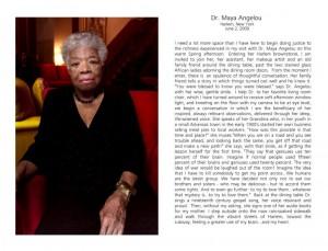 Dr. Maya Angelou Harlem NY June 2 2009.supb use